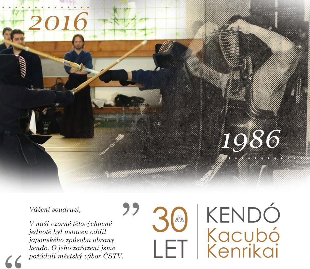 30 let Kendó